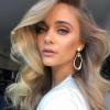 makeup on model